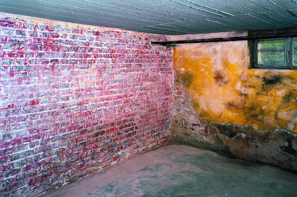 Schimmelige Kellerräume